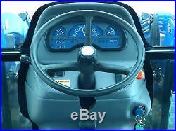 2009 New Holland Boomer 3040 Tractor 250TL Loader Hydrostatic Cab/Heat/AC