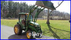 John Deere X Compact Utility Cab Tractor With Loader Hydro Hrs Fsce