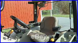 John Deere X Compact Utility Cab Tractor With Loader Hydro Hrs Xfy