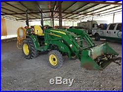 2010 John Deere 3520 Tractor 480 hours