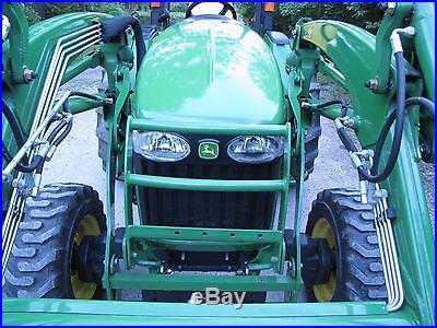 2010 John Deere 4120 4x4, Hydro, 400CX Loader, excellent condition