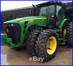 2010 John Deere 8225R Tractor 225hp JD 16 Speed Power Shift Big Pump 3 PT Hitch