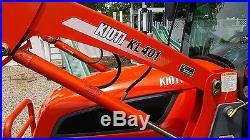 2010 Kioti DK40SE HST 4x4