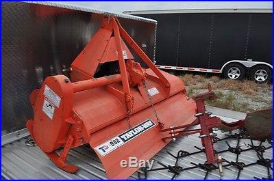 2010 Kubota L3400 4x4 Tractor W/ Loader and Equipment Hydrostatic Drive 79 Hr