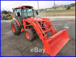 2010 Kubota L3940 Tractor WithOEM Loader, ONLY 307 Hrs! , Cab, AC/Heat, 4x4, NICE