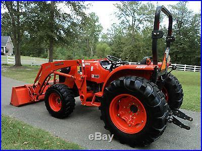 2010 Kubota MX5100-HST 4x4 Tractor Front End Loader