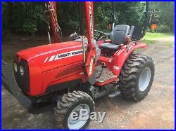 2010 Massey Ferguson 1532 Tractor Loader (168 original hours) 4x4 Compact