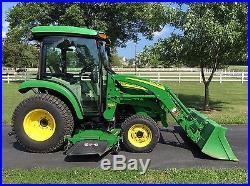 2011 John Deere 3720 Factory Cab Tractor 300CX Loader 72D