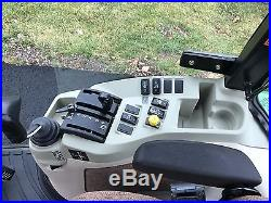 2011 John Deere 4720 Cab Tractor 400CX Loader Snow Plow 180 Hours