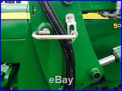 2011 John Deere 5045E Tractor & Loader, 4x4, 279 Hours & No Reserve