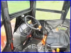 2011 KUBOTA B2920, HST DRIVE, 60 DECK, 29 HP DIESEL, 4WD, LOADER, CAB, 333 HRS