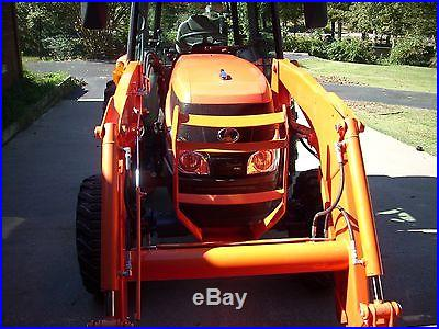 2011 KUBOTA L5740 CAB+LOADER+4X4+HYDRO TRANS WITH 327HRS. MINT CONDITION