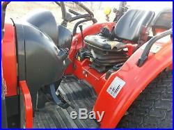 2011 Kioti DK45SE tractor loader 45 hp diesel 4x4 HST used compact utility LEDs
