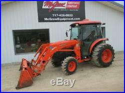 2011 Kubota L5240 Loader Tractor 765 Hrs 53 HP Cab Heat Air 4x4 Hydrostatic