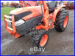 2011 Kubota L5240 Tractor, 4WD, LA854 Loader with SSL QA, 1 Remote, 1,694 Hours