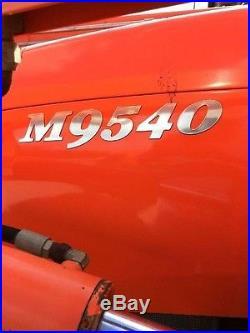 2011 Kubota M9540 Tractor 4,000 Hours Beckville, TEXAS