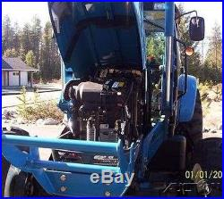 2011 LS P7010C Tractor 72hp Iveco Diesel 16 Speed Shuttle Shift IDAHO