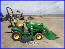 2012 John Deere 1026R Tractor, 4WD, JD H120 Loader, Hydro, 60in BM, 472 Hours