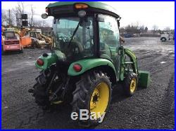 2012 John Deere 3320 4x4 Compact Tractor withCab & Loader