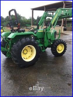 2012 John Deere 5075E 4WD Tractors