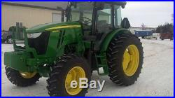 2012 John Deere 614D Tractor 140hp John Deere Power Shift MFWD SOUTH DAKOTA