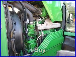 2012 John Deere 7330 Farm Tractor NICE! 4K HRS COLD A/C Diesel 4WD 3 PT PTO