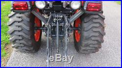 2012 KUBOTA B2920 4X4 COMPACT UTILITY TRACTOR With LOADER HYDRO 29HP 126 HOURS
