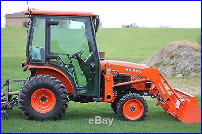 2012 Kubota B3000-HSDCC Compact Tractor & attachments
