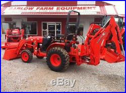 2012 Kubota B3200 tractor loader backhoe