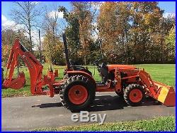 2012 Kubota B3300SU Diesel Tractor