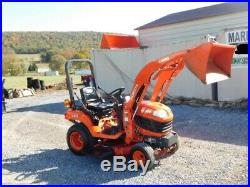 2012 Kubota BX1860 Sub Compact Tractor Loader Belly Mower 4X4 3 Point Hitch PTO
