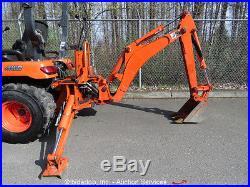 2012 Kubota BX25D 4WD Backhoe Wheel Loader Ag Tractor 23HP PTO 2-Spd HST bidadoo