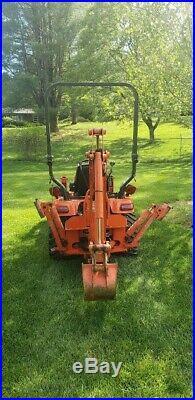 2012 Kubota BX25D Hydraulic Backhoe Wheel Loader Tractor PTO 4WD Diesel