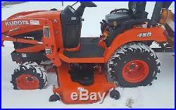 2012 Kubota BX2660 Compact withLoader, Mower Deck & Tiller