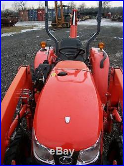 2012 Kubota L3800 Tractor withLA524 Front Loader, BH 77 Backhoe with Thumb, Diesel