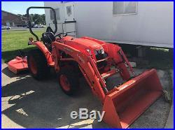 2012 Kubota Tractor/Mower LA525