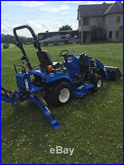 2012 NEW HOLLAND 1025 BOOMER DIESEL 4WD TRACTOR ONLY 170 HOURS