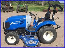 2012 New Holland Boomer 20 Sub-Compact Garden Tractor Diesel Mower
