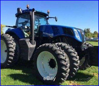 2012 New Holland T8.390 Tractor w Warranty 340hp Case 19 Speed Power Shift MFWD