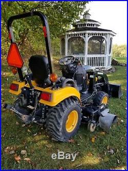 2012 Yanmar SC2400 subcompact tractor loader mower brushhog