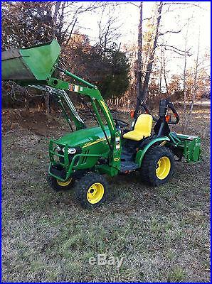 2012 john deere 2320 tractor low hours