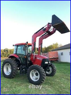 2013 Case IH 110A TRACTOR PRE EMMISSION LOW HOUR CAB HEAT LOADER A/C 16 SPEED
