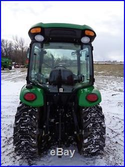 2013 John Deere 3520 Tractor, Cab/Heat/Air. 4WD, Hydro, 37HP Diesel, 390 hours