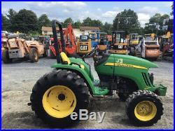 2013 John Deere 4105 4X4 Hydro Compact Tractor CHEAP