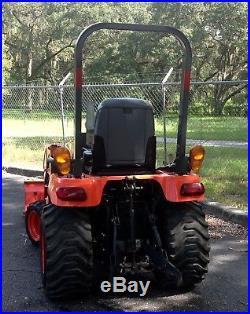 2013 Kubota 4X4 Diesel Tractor Loader (very low hours)