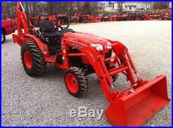 2013 Kubota B3200 tractor loader backhoe