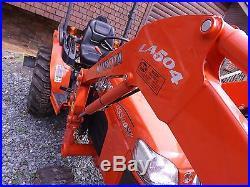 2013 Kubota B3300 4wd With LA504 Loader and Scrape Blade