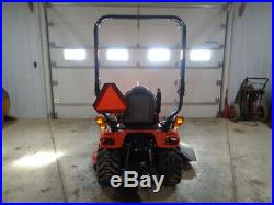 2013 Kubota BX2370 Tractor, LA243 Loader, 54 Belly Mower, Hydro, R4, 81 Hours
