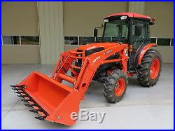 2013 Kubota Grand L5240 Cab Diesel Tractor 4x4 A/C Loader HST ONLY 80 hrs