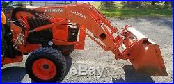 2013 Kubota L4760 TLB Tractor WithCab Only 588 Hours! Just Serviced! Nice
